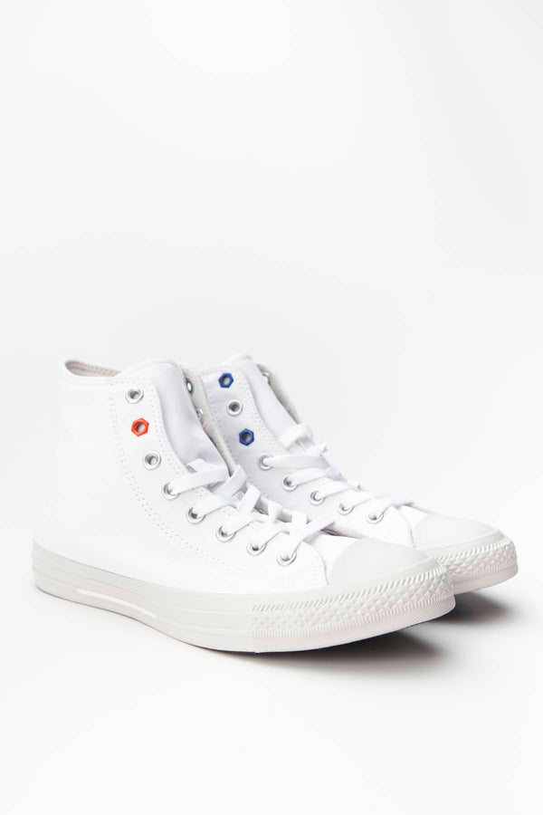 #00218  Converse obuv, tenisky CHUCK TAYLOR ALL STAR HI 051 WHITE/HABANERO RED/PALE PUTTY