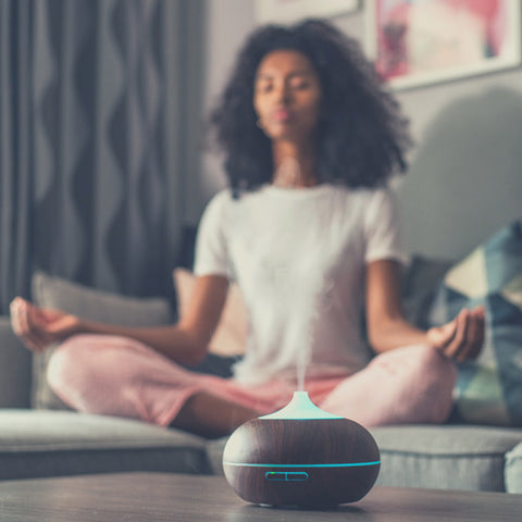 Humidifier for sleep and meditation