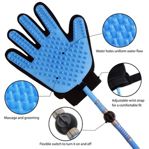 Combo of Pet Swimming Pool & Pet Gloves Spray