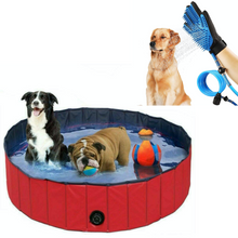 Load image into Gallery viewer, Combo of Pet Swimming Pool & Pet Gloves Spray