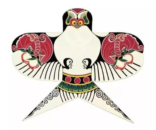 ancien cerf-volant chinois