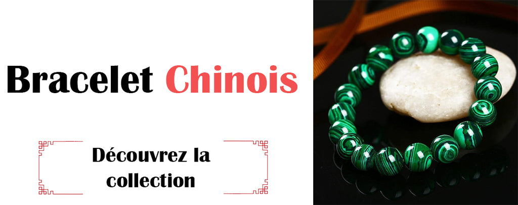collection bracelet chinois