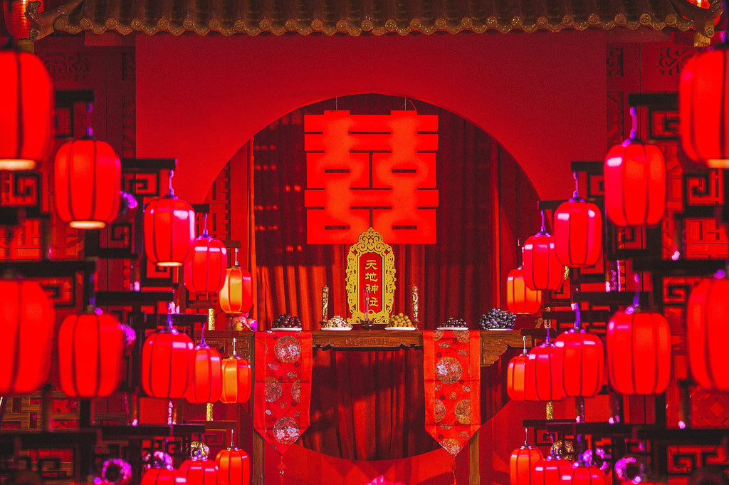 décoration mariage chinois