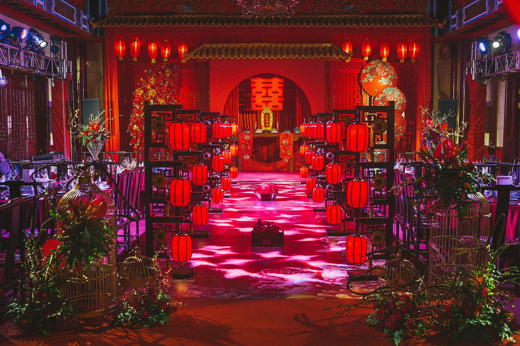 couleur rouge dominante mariage chinois