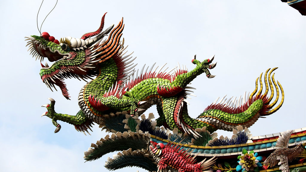 dragon chinois décoration