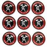 "3"" Firefighter Crafted Stickers"