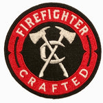 "3.5"" Firefighter Crafted Patch"