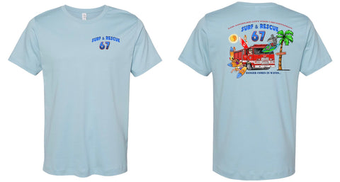 LAFD Station 67 Shirt *Limited Edition Vintage