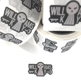 The Williams Key Shredded Sticker Pack (9 stickers)