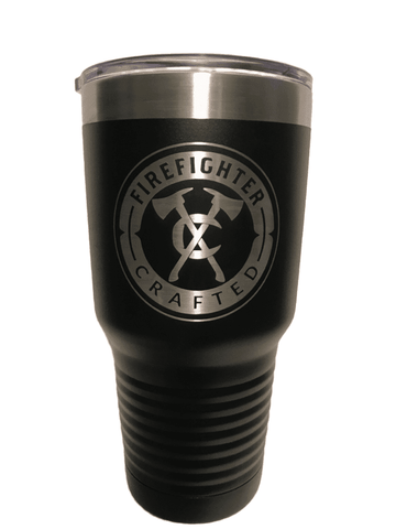 Firefighter Crafted 30oz Tumbler