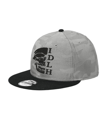 IDLH New Era Grey Camo Snap OG Skull