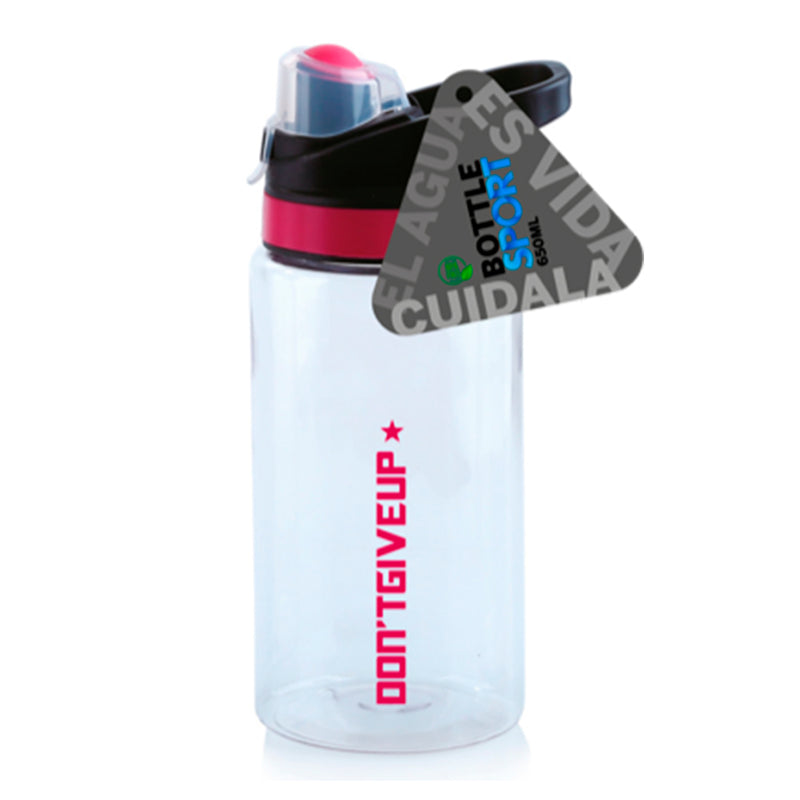 Botella Deportiva Tritan 650Ml