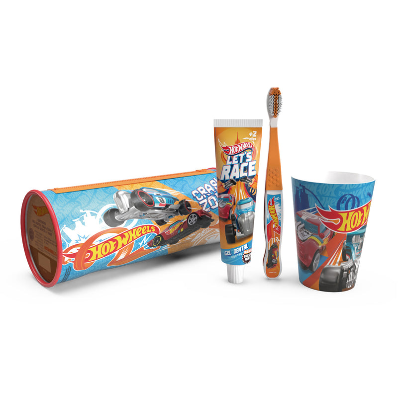 Set lavado de dientes Hot Wheels