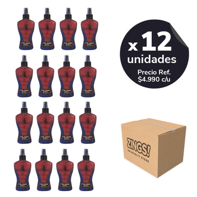 Colonia Spiderman x 12 Unidades