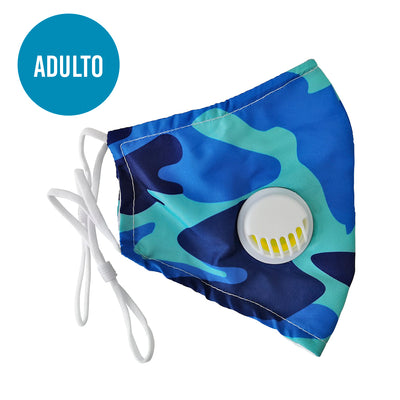 Mascarilla Adulto Azul
