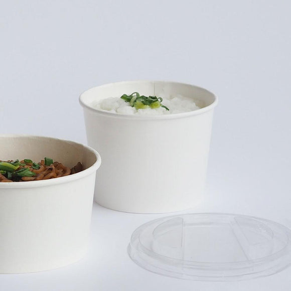 1000ML WHITE SOUP BOWL (PL-WBWL-1000) - 50PCS/PKT