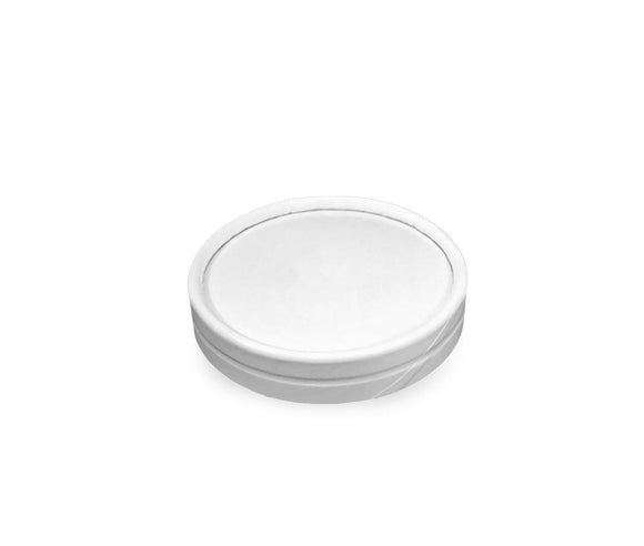 PAPER LID W/ SPOON FOR 3OZ ICE CREAM CUP (PL-3OZ-PLWICC) - 25PCS/ROLL