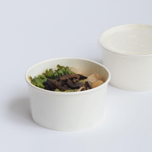 780ML WHITE SOUP BOWL (PL-WB-780ML-DY) - 50PCS/PKT
