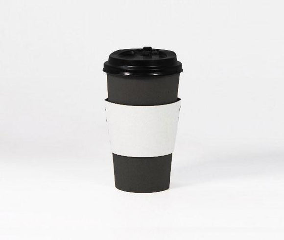8OZ BLACK SINGLE WALL CUP (PL-8OZSWCB) - 50PCS/ROLL