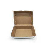 CLAMSHELL CORRUGATED LARGE CHICKEN BOX (CLAM-CBL-MT) - 50PCS/PKT