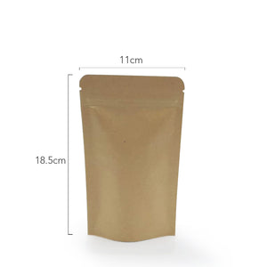 #6 BROWN KRAFT WITH INNER ALUMINIUM (SUP6W11) - 50PCS/PKT