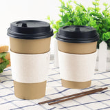 20OZ BROWN SINGLE WALL CUP (PL-20OZ-SWC-KR) - 50PCS/ROLL