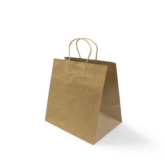 BROWN PAPER BAG 5A (PL-BPB5A-WZCB) - 25PCS/BUNDLE
