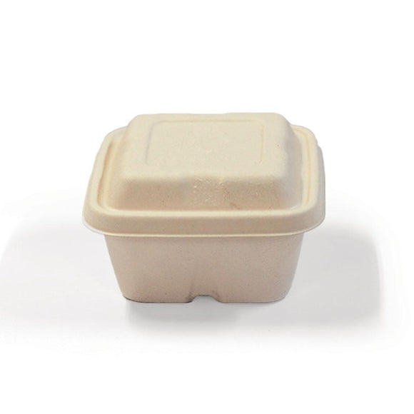 ECO SQUARE CONTAINER (E-SOHE497PA) - 25PCS/PKT