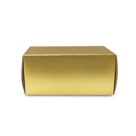 GOLDEN LOGCAKE BOX W/ GOLD CAKE BASE (UDD-LOGCAKE-GOLD) - 10SETS/BUNDLE
