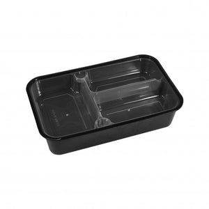 3 COMPARTMENT INSERT FOR 1800ML CONTAINER (PCINS-HSKF1800-3) - 50PCS/PKT