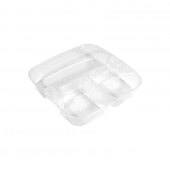 3 COMPARTMENT INSERT FOR 1000ML SQUARE CONTAINER (PCINS-HS03A) - 50PCS/PKT