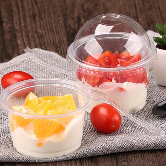 300ML PP CLEAR BOWL (PP86-300-6) -100PCS/PKT