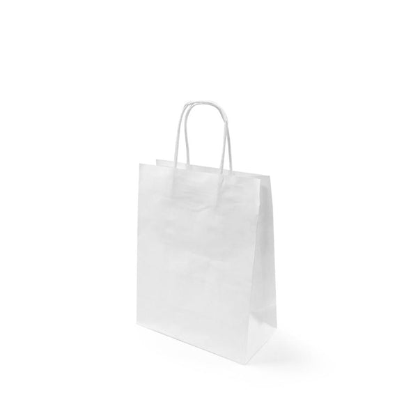 WHITE PAPER BAG 1A (PL-WPB-1A-WZCB) - 25PCS/BUNDLE
