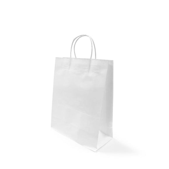 WHITE PAPER BAG 3A (PL-WPB-3A-WZCB) - 25PCS/BUNDLE