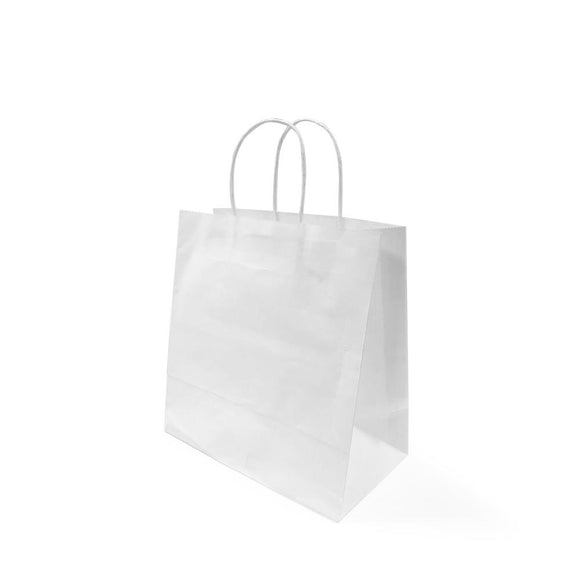 WHITE PAPER BAG 4A (PL-WPB-4A-WZCB) - 25PCS/BUNDLE