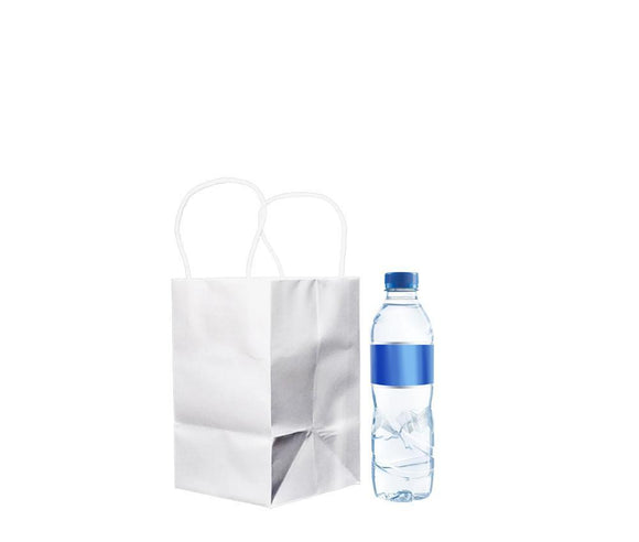 WHITE PAPER BAG 1 (PL-OPBW-1) - 10PCS/BUNDLE
