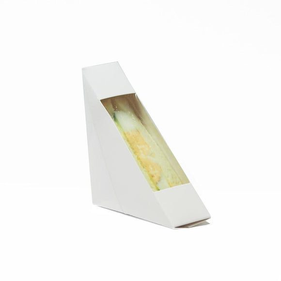 SANDWICH BOX WHITE #1 (PL-SWB-W-1) - 50PCS/PKT