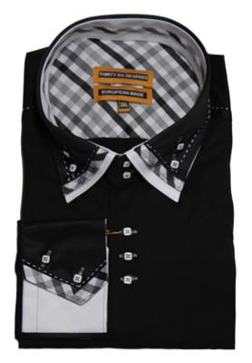 36 DEGREES 5120 FASHION SHIRT BLACK