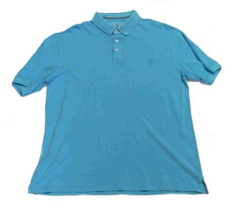BACK BAY G630121A POLO TOP TURQUOISE