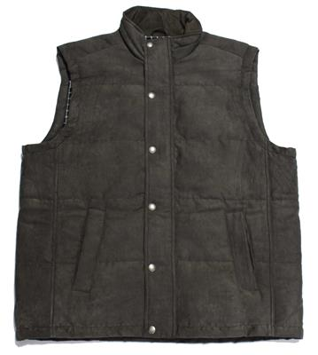 BACK BAY VEST G930305 WALNUT