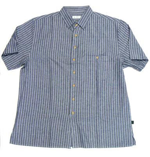 BRAINTREE KWT202 S/S CASUAL SHIRT BLUE