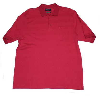 BREAKAWAY 61074 POLO TOP SANGRIA
