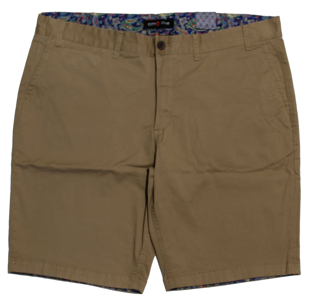 CITY CLUB VALLEY SHORTS TAN