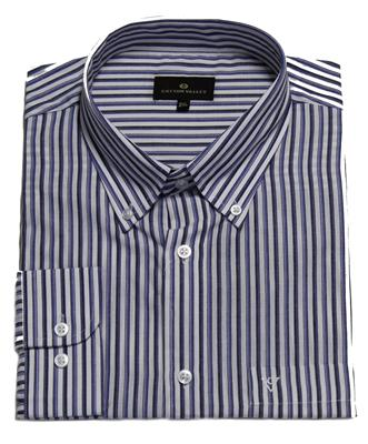 COTTON VALLEY 15630 CASUAL SHIRT NAVY/BLUE