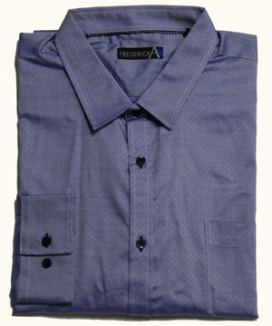 FREDERICK A FYH112 FASHION SHIRT BLUE