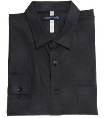 FREDERICK A 19693 CASUAL SHIRT BLACK