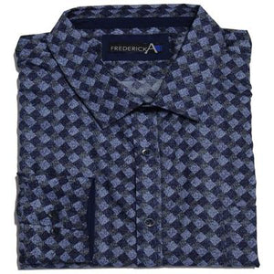 FREDERICK A 13743 CASUAL SHIRT NAVY