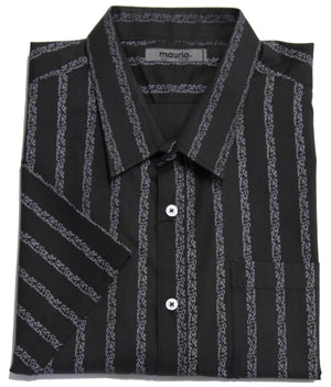 MAURIO 2119381 CASUAL SHIRT BLACK