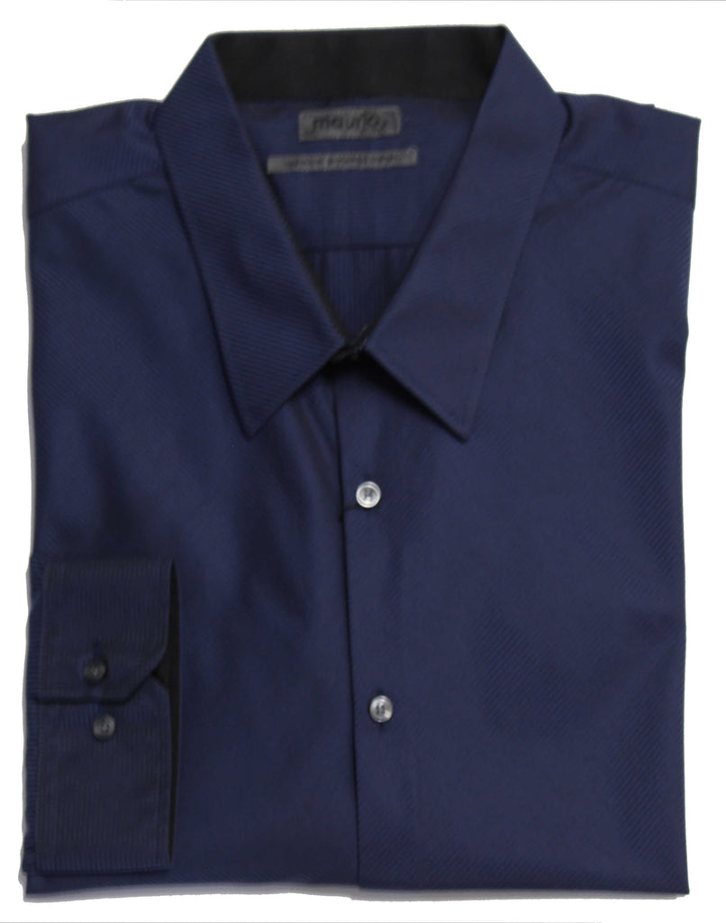 MAURIO 2945024 FASHION SHIRT NAVY