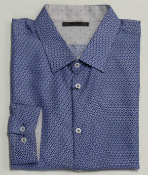 MAURIO 2958040 FASHION SHIRT BLUE